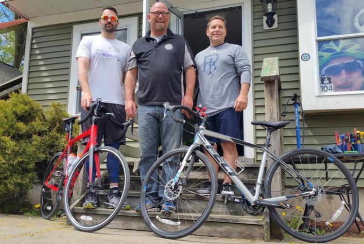 Best Buddies Backer Training To Bike With Tom Brady | The