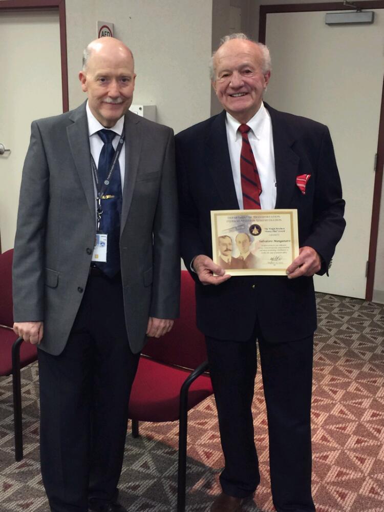 Sky-High Lifetime Brings Prestigious Award To Local Pilot
