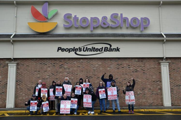 Strike Continues For Stop & Shop Workers Over Failed