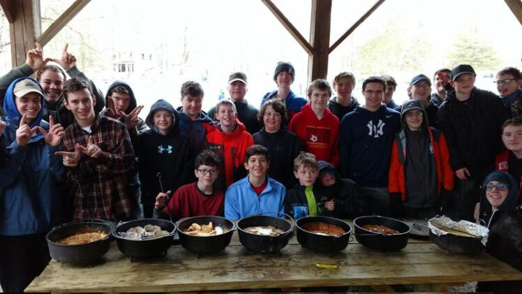 Newtown Boy Scouts Worked Together For Historic Camporee