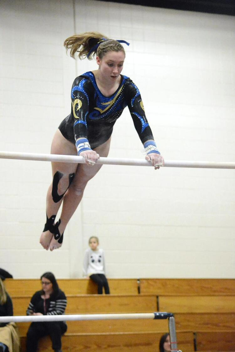 Gymnasts Win Second Consecutive Meet | The Newtown Bee