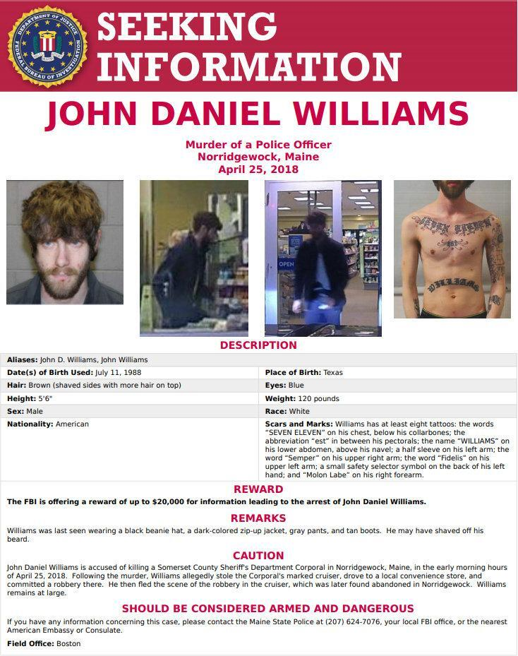 UPDATED** Nationwide Manhunt Over For Man Accused Of Killing